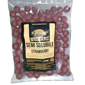 Boilies Nadire 1 kg Semisolubil aroma Strawberry By Accesfishing
