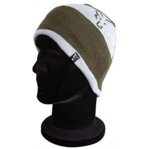 Caciula Green and Silver Beanie