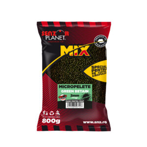 Micro-pelete Senzor Planet diametru 2mm ambalaj 800gr aroma green betain by Accesfishing