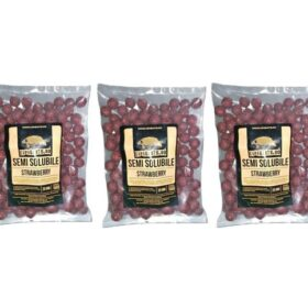 Pachet 3kg Boilies Nadire Semisolubil aroma Strawberry By Accesfishing