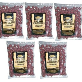 Pachet 5kg Boilies Nadire Semisolubil aroma Strawberry By Accesfishing