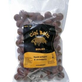 Boilies Nadire 1 kg Fierte 20 mm aroma Squid Octopus Strawberry by Accesfishing