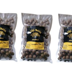 Pachet 3 kg Boilies Nadire Solubile 20 mm aroma Frankfurter+ by Accesfishing