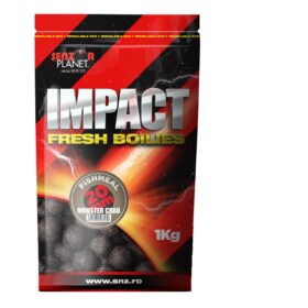 Boilies tare pentru nadit 1kg monster crab 20 mm by Accesfishing