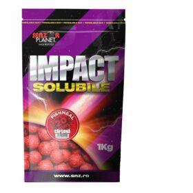 Boilies solubil 20 mm capsuna 1kg by Accesfishing