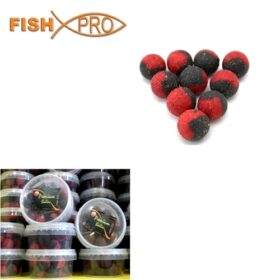 Boilies spicy Squid & krill 15 mm 100g in dip
