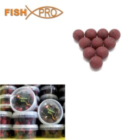 Boilies spicy Squid & krill 20 mm 100g in dip