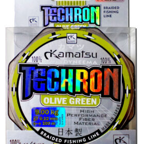 Fir Multifilament Techron Olive 100m 0.06