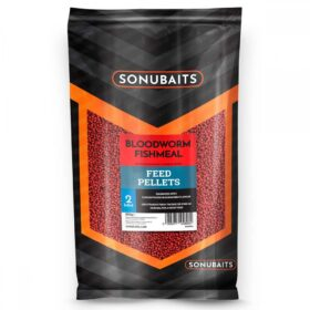 Sonubaits feed pellets 2mm bloodworm Fishmeal