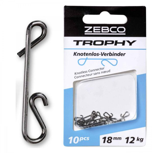 Agrafa Zebco Trophy Knotless Connector 18mm