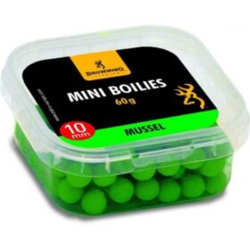 Boilies Browning Mini Boilie pre-drilled green Mussel 10 10mm