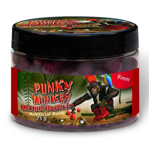 Boilies Radical Method Marbles Punky Monkey 9mm 75g