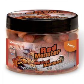 Boilies Radical Method Marbles Red Monster 9mm 75g