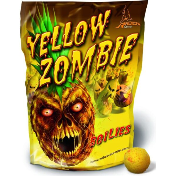 Boilies Radical Yellow Zombie Boilie 20mm 1kg