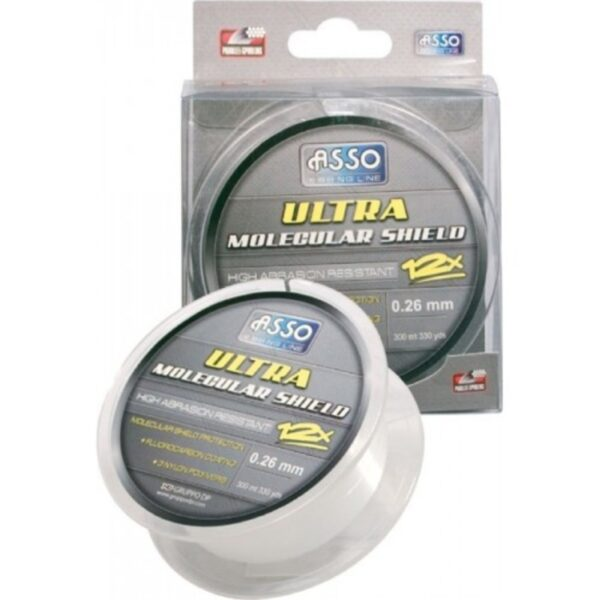 Fir Asso Ultra Molecular Shield White 0.20mm 150m