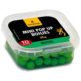 Pop-up Browning Mini Pop-up Boilie pre-drilled green Mussel 10mm