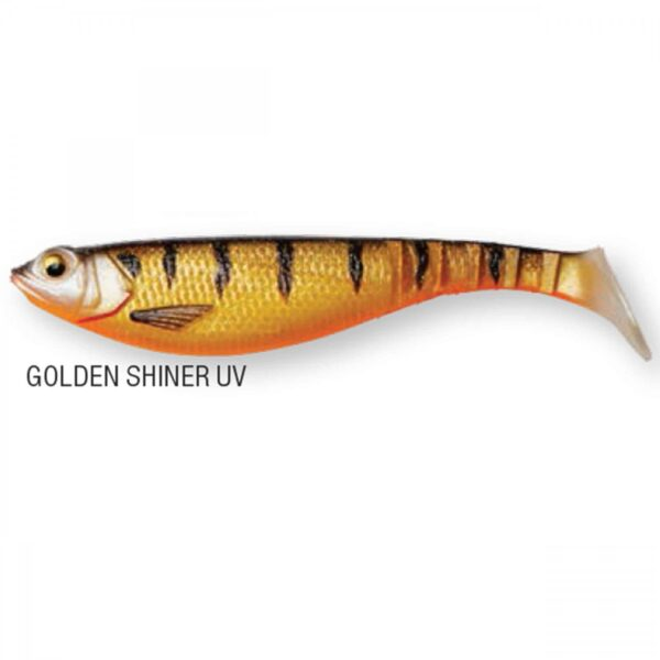 Shad DAM Effzett Shadster Power Tail 6cm 2.4gr Golden Shiner UV