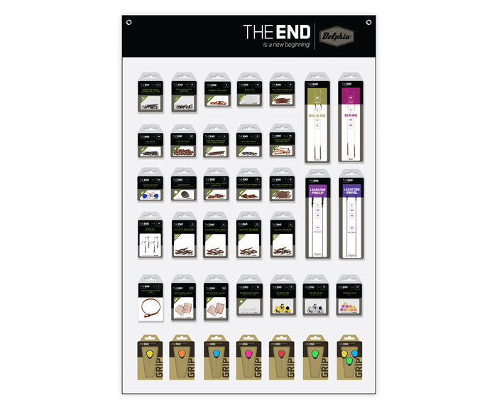 Completare Set accesorii THE END + expozitor