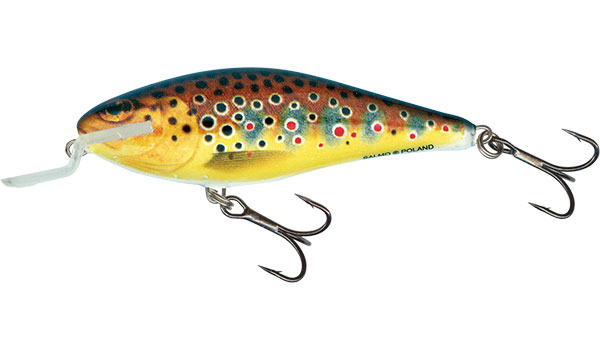Vobler Salmo Executor Shallow Runner Trout 9cm