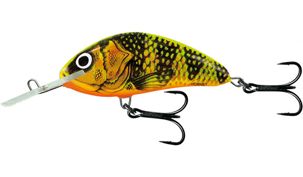 Vobler Salmo Hornet Floating Gold Fluo Perch 9cm