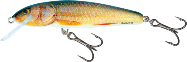 Vobler Salmo Minnow Floating Real Roach 9cm