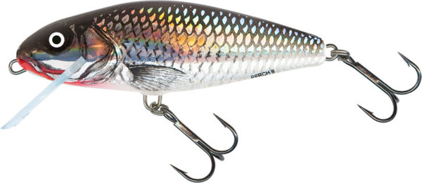 Vobler Salmo Perch Floating Holographic Grey Shiner 14cm