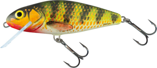 Vobler Salmo Perch Shallow Runner Holographic Perch 14cm