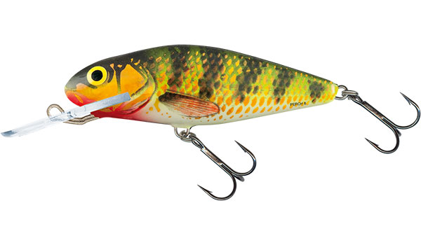 Vobler Salmo Perch Deep Runner Holo Perch 8cm