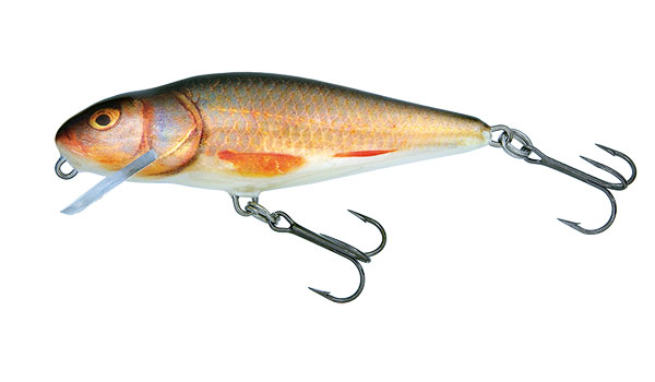 Vobler Salmo Perch Shallow Runner Real Roach 12cm