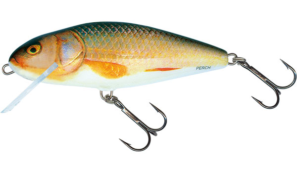 Vobler Salmo Perch Floating Real Roach 12cm