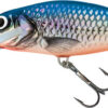 Vobler Salmo Perch Super Deep Runner Silver Blue 14cm