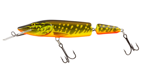Vobler Salmo Pike Jointed Deep Runner Hot Pike 13cm