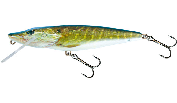 Vobler Salmo Pike Floating Real Pike 16cm