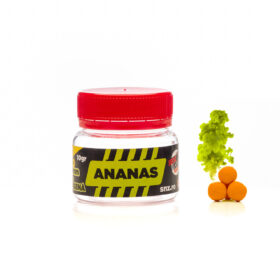 Cutie 10gr Pop-up fumegator aroma ananas 6mm by Accesfishing