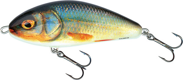 Vobler Salmo Fatso Sinking Real Roach 10cm