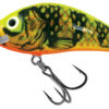 Vobler Salmo Rattlin Hornet Floating Gold Fluo Perch 3.5cm