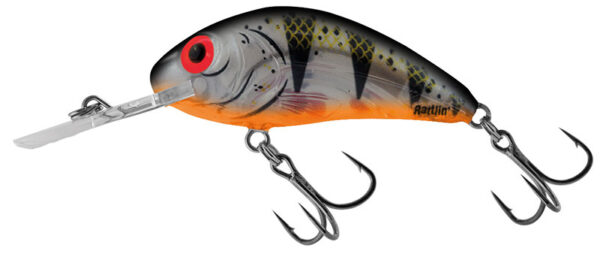 Vobler Salmo Rattlin Hornet Clear Floating Clear Young Perch 4.5cm
