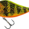 Vobler Salmo Slider Sinking Gold Fluro Perch 12cm