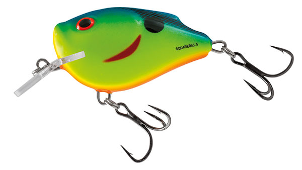 Volber Salmo Squarbell Floating Chartreuse Powder Blue 5cm