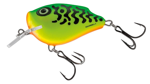 Volber Salmo Squarbell Floating Green Tiger 5cm