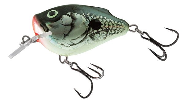 Volber Salmo Squarbell Floating Holo Grey Shad 5cm