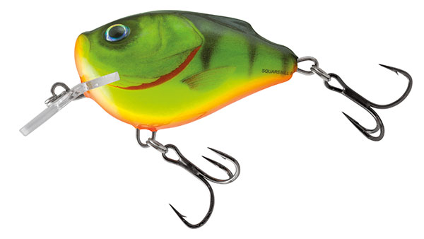 Volber Salmo Squarbell Floating Hot Perch 5cm