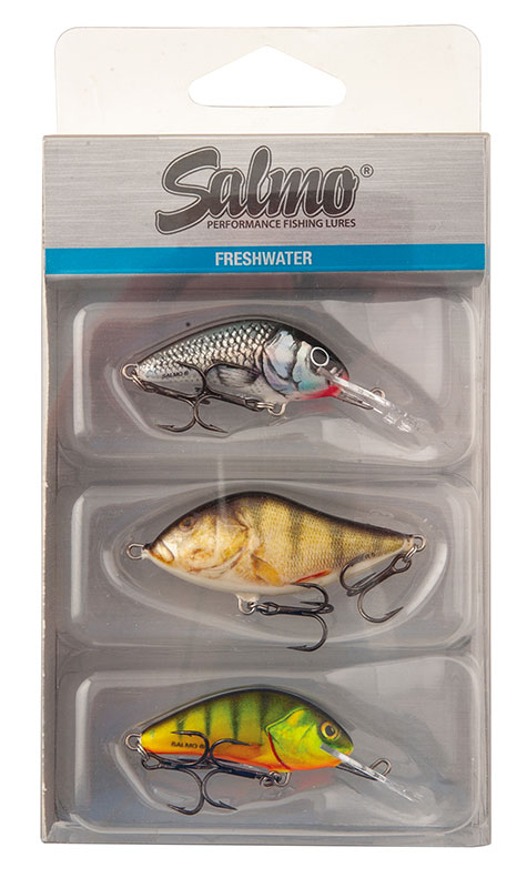 Vobler Salmo Perch Pack