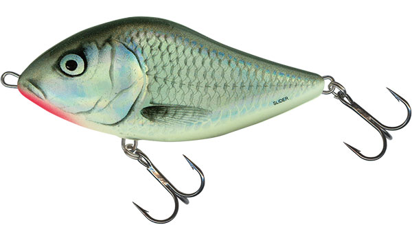 Vobler Salmo Slider Floating Holo Grey Shiner 10cm