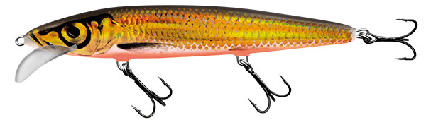 Vobler Salmo Whacky Floating Gold Chartreuse Shad 9cm