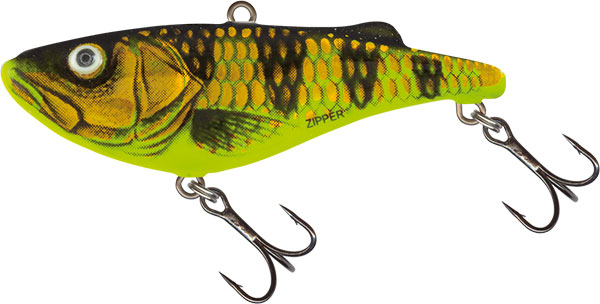 Vobler Salmo Zipper Sinking Gold Yellow Perch 4cm