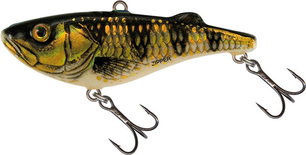 Vobler Salmo Zipper Sinking Gold Red Perch 4cm